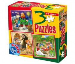 Puzzle 3 Fairy Tales 08 ( 07/50922-08 )