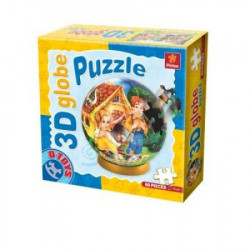 Puzzle 3D GLOBE 60 FAIRY TALES 03 ( 07/67814-03 )