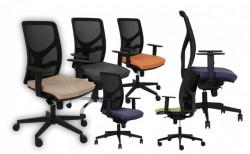 Radna fotelja - Y10 line (mreža + eko koža u više boja)