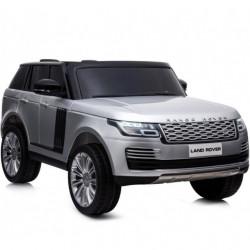 Range Rover 250/1 Licencirani Dvosed sa kožnim sedištima i mekim gumama - Metalik sivi