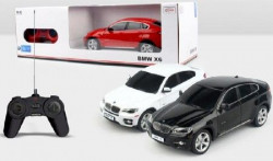 Rastar igračka RC automobil BMW X6 1:24 - crv, bel ( A013524 )