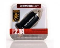 Remax Auto punjac 1x USB 2.1A crni