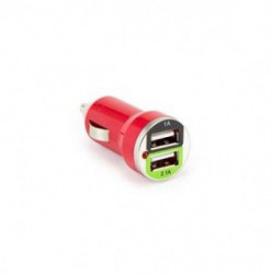 S BOX CC - 221 2.1A Red Car USB Charger