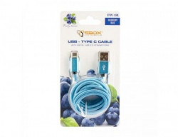 S BOX Kabl USB A - Type C 90 1 5 m Blue
