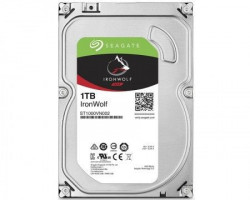 "Seagate 1TB 3.5"" SATA3 64MB IronWolf ST1000VN002"