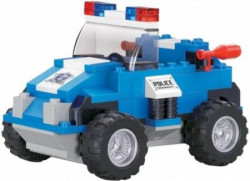 Sluban kocke, policijski autić, 121 kom ( A021076 )