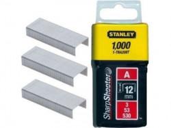 "Stanley 1-TRA208T Klamerice tip ""A"" 12mm 1000kom"