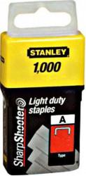 "Stanley 1-TRA209T Klamerice tip ""A"" 14mm 1000kom"