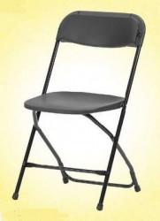Stolica na rasklapanje Alex - bela i crna ( 374633 )