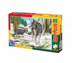 Super Puzzle 35PCS ANIMALS 03 ( 07/60198-03 )