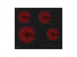 Tesla staklokeramicka ploca HV6410MX,4 zone, 2 proširene,60cm,inox rub ( HV6410MX )
