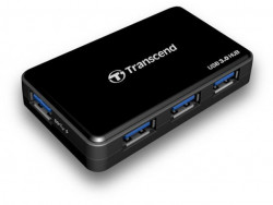 Transcend TS-HUB3K USB 3.0 Hub, 4xUSB3.0, Up to 5Gb/s