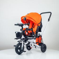 Tricikl Playtime 413 RELAX sa rotirajućim sedištem - Narandžasti