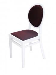 Trpezarijska stolica G502 beli visoki sjaj - dostupno u više boja