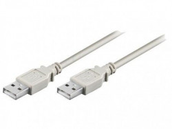 USB kabl muško-muški 5m sivi ( 63-052 )