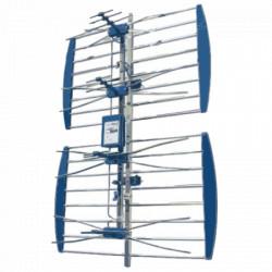 Vega antena spoljna mreasta sa pojacalom, 17-35db, Alu, UHF/VHF/DVB-T2 FO ( ANT-408AL )
