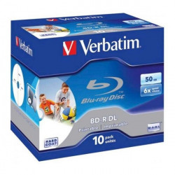 Verbatim 43736 43735 Blu-Ray 50GB 6X WIDE printable ( 5250P/Z )