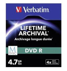 Verbatim 43826 DVD-R M-Disk 4.7GB 4X slim case ( 554M/Z )