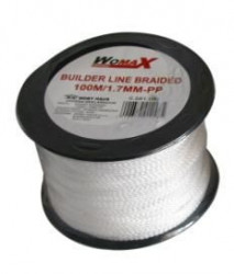 Womax kanap zidarski 100m x 1.7mm PP ( 0581046 )
