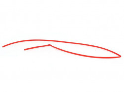 Womax termo bužir PE 5mm-2.5mm/1m crveni ( 0550050 )