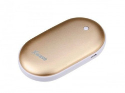 Xwave Warm up 52 gold power bank 5200mAh USB&USB micro kabl