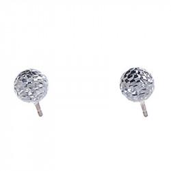 Ženske Oliver Weber Ball Small Crystal mindjuše sa swarovski belim kristalom