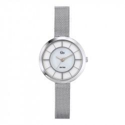 Ženski Girl Only Eblouis moi Beli Elegantni ručni sat sa pancir kaišem