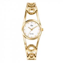 Ženski Girl Only Zlatni Elegantni ručni sat sa zlatnim metalnim kaišem