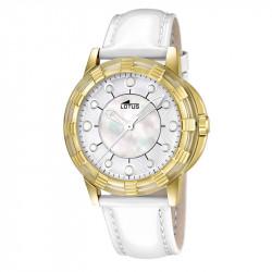 Ženski Lotus Glee Sedef Zlatni Modni ručni sat