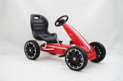 Abarth Licencirani Karting - Formula na pedale sa mekim gumama - Crveni ( BJ 9388 )