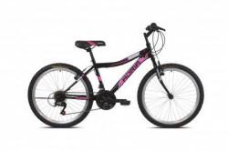 """Adria bicikl stinger 24""""/18ht crno-pink 12.5"""" ( 918177-15 )"""