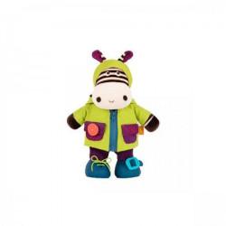 B toys plišana igračka obuci me Zebra ( 312036 )