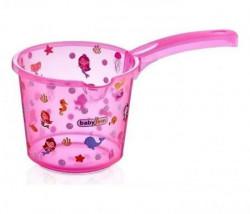 Babyjem bokal za kupanje beba - pink transparent ( 92-24002 )
