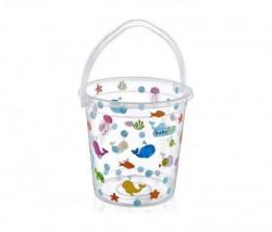 Babyjem kofica za kupanje bebe - white transparent ocean ( 92-33998 )