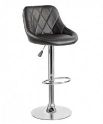 Barska stolica 5015 od eko kože - Crna
