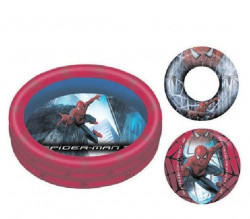 Bazen dečiji Spiderman 114x30 cm - set ( 25-235000 )