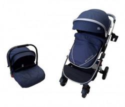 BBO Kolica za bebe bbo set sprinter - plava ( 808CPLAS )