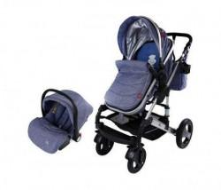 BBO Kolica za bebe matrix - 3u1 plava ( PL0005 )