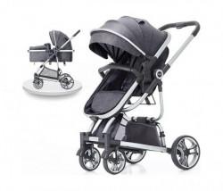 BBO kolica za bebe tiffany - grey ( 618GREY )
