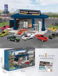 Benzinska stanica set ( 136930 )
