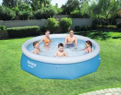 Bestway FAST SET bazeni veliki plavi bazen za porodicu 3.05m x 76cm ( 57266 )