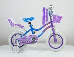 """Bicikl 12"""" sa pomoćnim točkovima model 716 - Ljubičasta"""