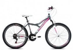 """Capriolo Diavolo 600 FS bicikl 26""""/18 pink 17"""" Ht ( 916312-17 )"""