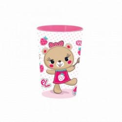 Čaša pink teddy ( 48/07153 )