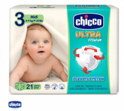 Chicco pelene ULTRA Midi 21X10 4-9kg,21kom ( A045760 )