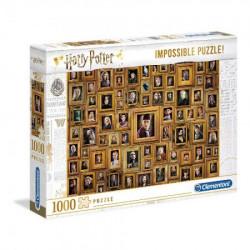 Clementoni puzzle 1000 impossible harry potter ( CL61881 )