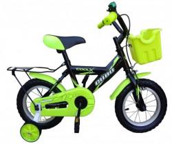 """Cubo Cool X 12"""" Bicikl za decu crno-zelena( BCK0324 )"""