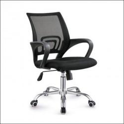 Daktilo stolica C-804D Crna ledja/crno sedište ( 755-966 )
