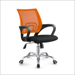 Daktilo stolica C-804D Narandžasta ledja/crno sedište ( 755-511 )