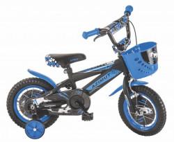 """Dečija bicikla 12"""" AZIMUT plavo-crna ( 12013 )"""